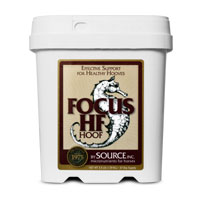 FOCUS HF label